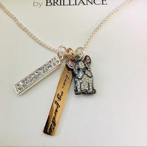 "Jewelry - NWT    French Bulldog Necklace    Size: 18"" + 2"""
